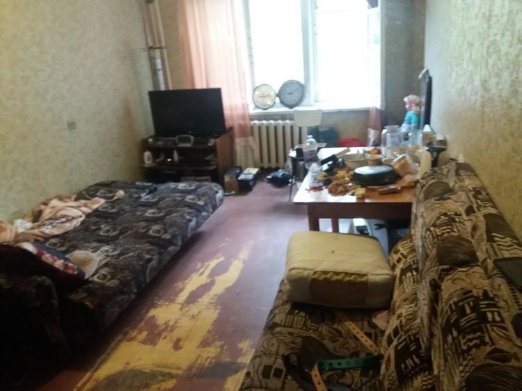 Убийство было совершено в этой квартире / Фото: СУ СК по Самарской области
