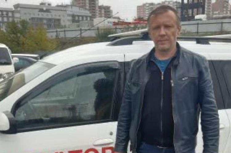 Антон Бебякин первым пришел на помощь водителю. Фото: ГУ МЧС России по Иркутской области