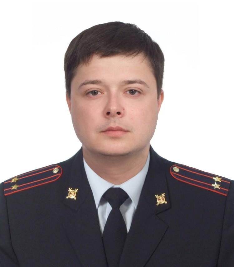 Алексей Игнатенко. Фото пресс-службы МВД по Коми