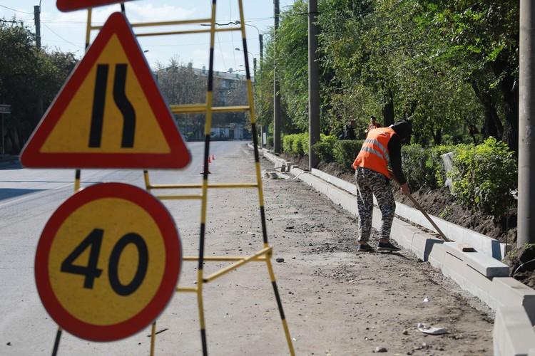 Для оборудования остановок на некоторых участках придется убрать кусты и деревья.