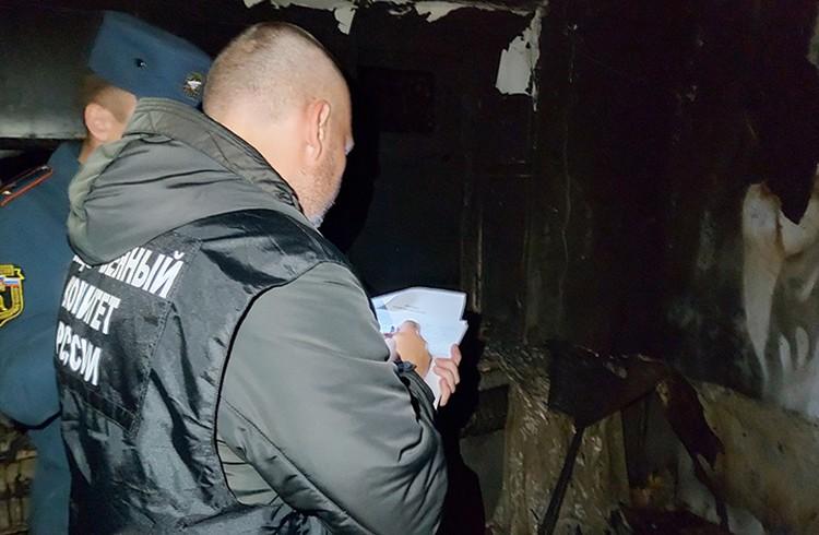 Сам предполагаемый виновник пожара сумел выбраться из дома.