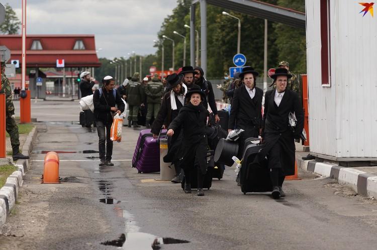 Почти все паломники вернулись в Беларусь