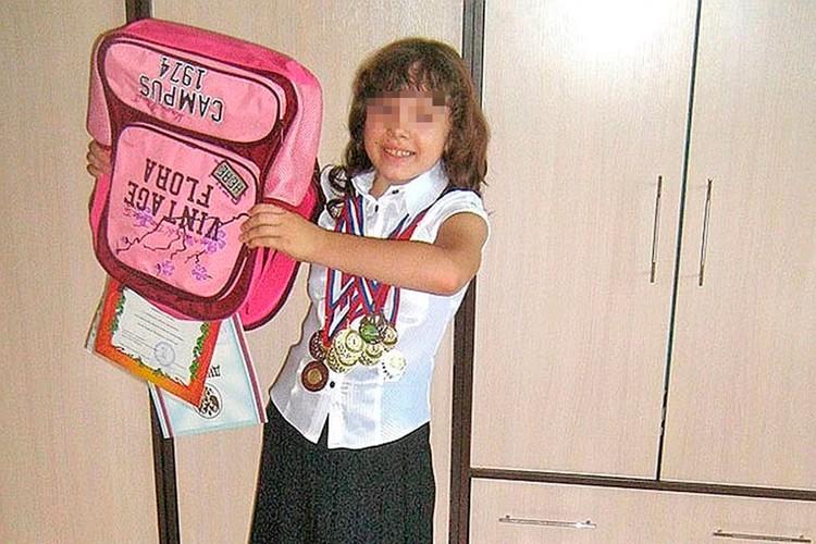 Юная Алина Беляева с самых ранних лет обгоняла сверстников в развитии. Фото: Архив КП-Самара