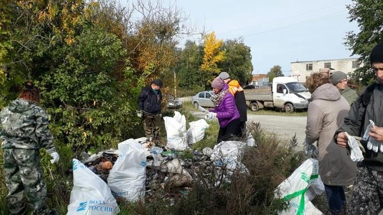 В Миассе тоже поддержали областной субботник Фото: Минэкологии Челябинской области