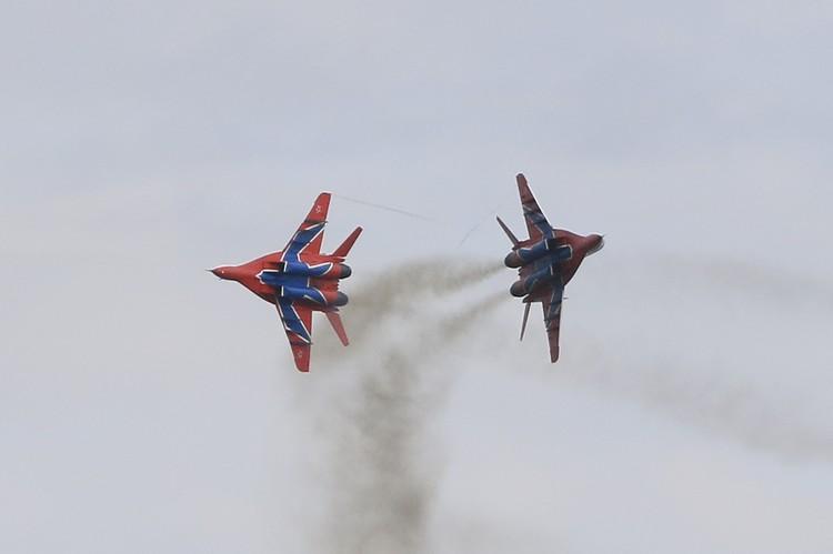 Авиашоу «Стрижей» в День города в Барнауле 19 сентября 2020