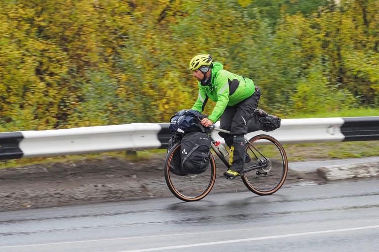 Путешествие в столь диких условиях требует тренировки. Фото: Из личного архива Александра Москаленко