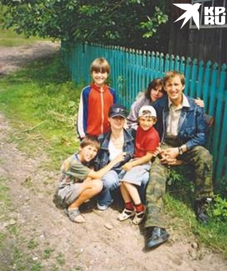 Муж и жена остались вместе благодаря детям. Фото: личный архив.