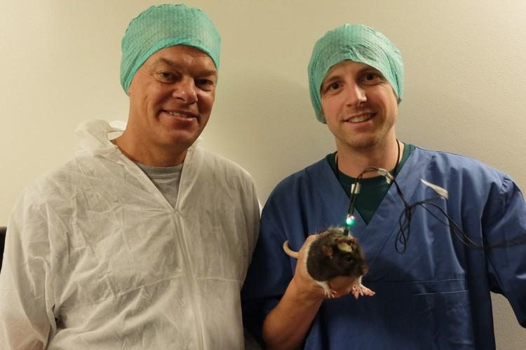 Йорген Шугар (справа) и его коллега. Фото: forskning.no