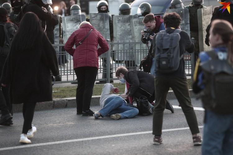 Протестующие собирались не только в центре Минска и в районах, но и в других городах республики