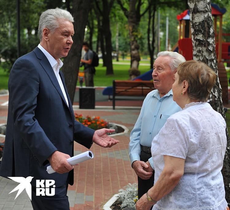 Собянин рекомендовал домашний режим пожилым москвичам