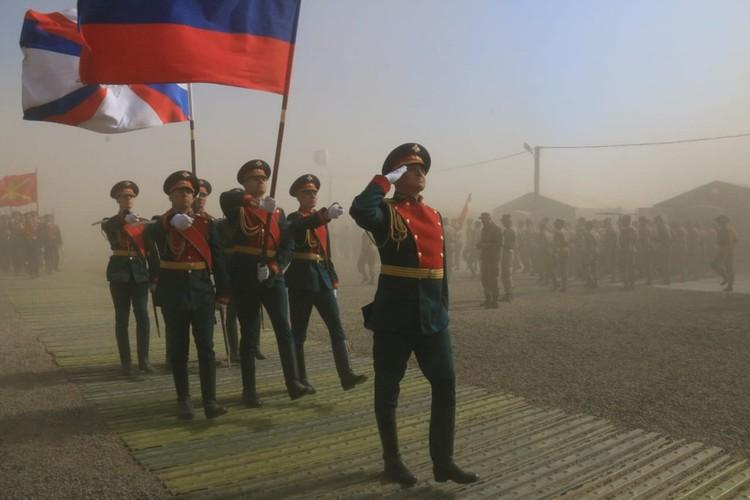 Фото: Департамент информации и массовых коммуникаций Минобороны России