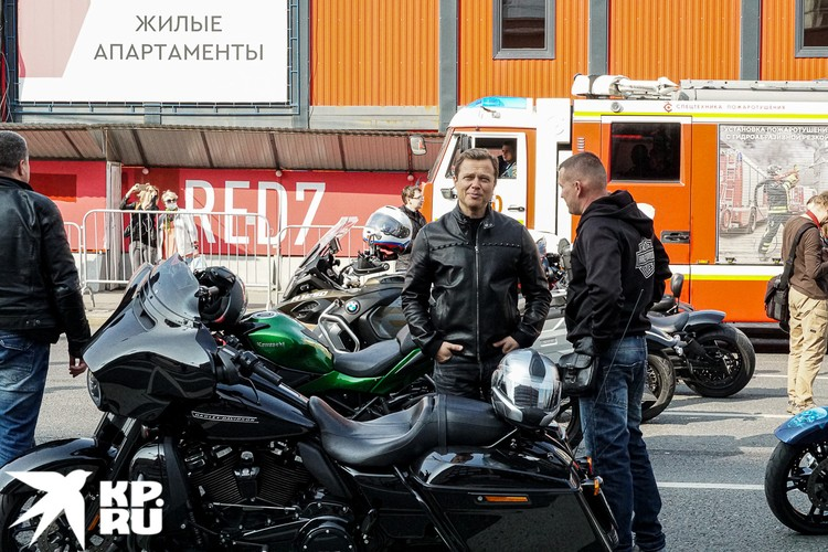 На праздник на своем мотоцикле приехал вице-мэр Москвы Максим Ликсутов. Фото: Михаил ПАНТЕЛЕЕВ