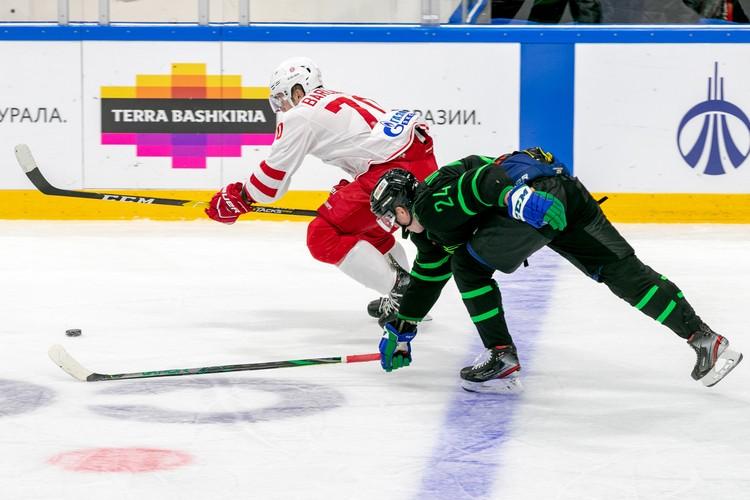 Михаил Воробьев не отличился голами или полезными передачами