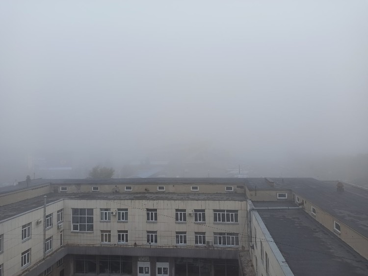 """Где-то в тумане скрылся автовокзал """"Юность"""""""