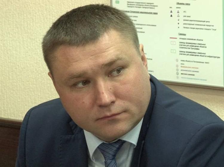 Глава Лазаревского района Олег Бурлев. Фото мэрии Сочи