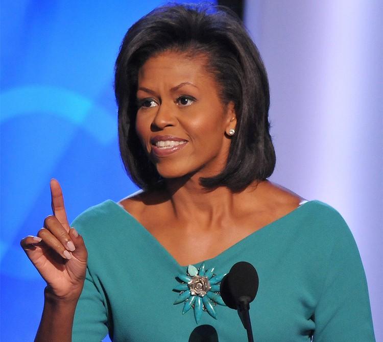 Cупруга 44-го президента США Барака Обамы Мишель.