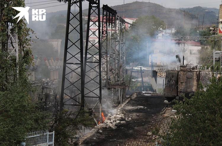 Столица Нагорного Карабаха обесточена из-за обстрелов