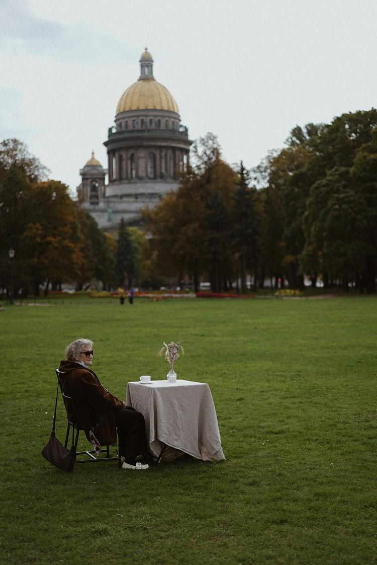 Благодаря проекту Людмила Зауличева побывала в дорогих ее сердцу местах. Фото: Ольга Проскурина