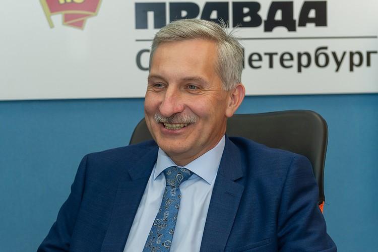 Председатель комитета по образованию Ленинградской области Сергей Тарасов.