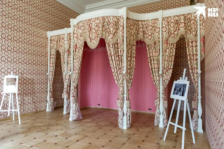 Спальня Николая II и Александры Федоровны
