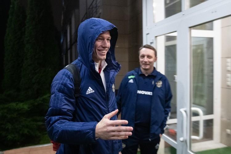 Матвей Сафонов прибыл в сборную России Фото: РФС