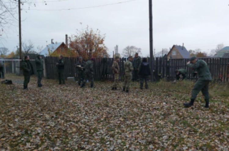 Поиски нижегородского стрелка продолжались всю ночь.