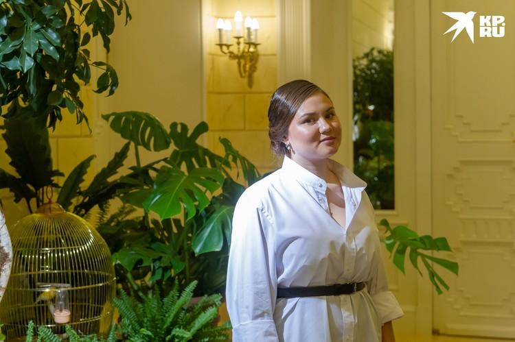 Екатерина Сафронова, управляющая особняком Мясникова