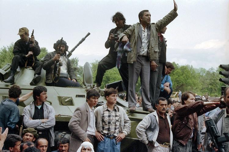 Гражданская война в Таджикистане началась одной из первых