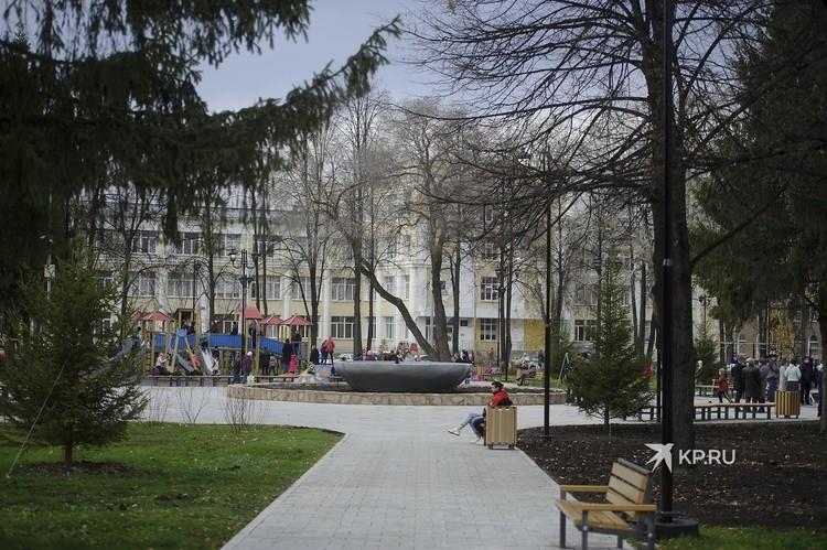 Фонтан в центре отремонтируют в будущем, если появится финансирование.
