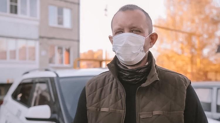 Автоволонтер Александр Глущук. Фото - владимирское отделение ОНФ.