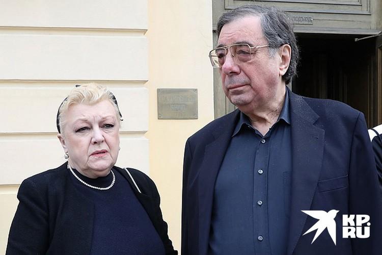 Михаил Цивин и Наталья Дрожжина после смерти Алексея Баталова стали опекать его семью.