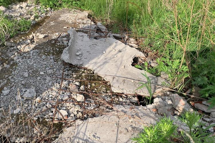 Тело Ани нашли в старом колодце, прикрытом бетонной плитой. Фото: Центр развития общественного контроля