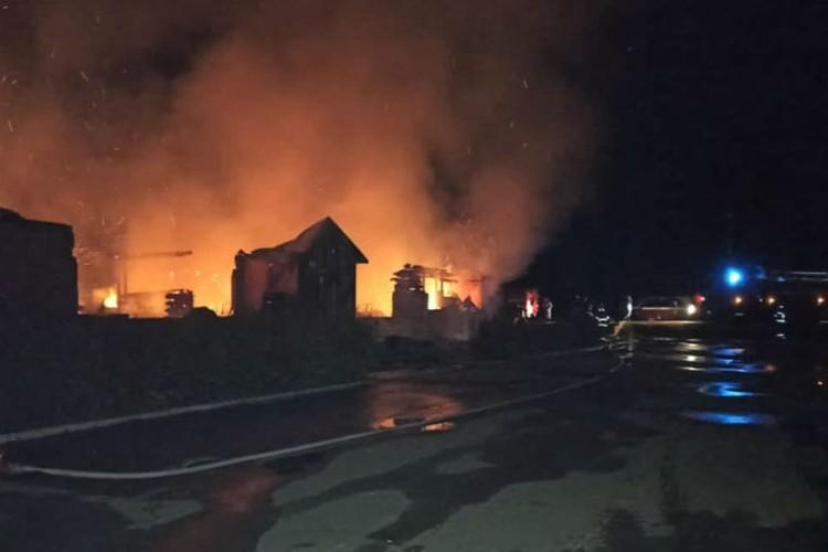 Из горевшего здания эвакуировали 34 человека