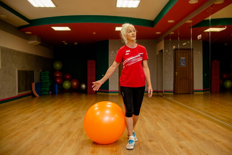 Первое время Надежда Медведева сама вела занятия в фитнес-центре после работы в детском саду.