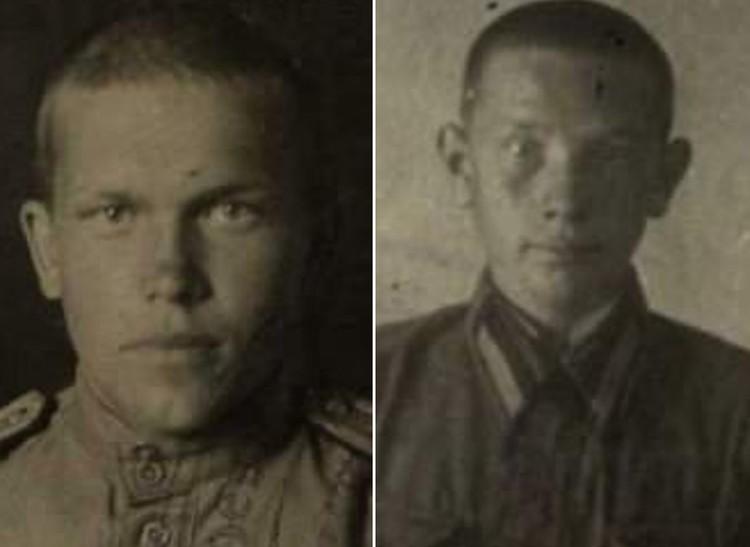 Герои-летчики Андрей Косолапов и Николай Чапурин.