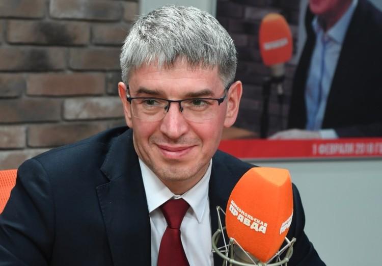 Руководитель департамента предпринимательства и инновационного развития города Москвы Алексей Фурсин.