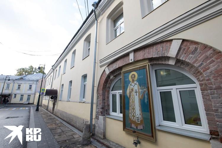 Бывший келейный корпус, где сегодня расположен Центр изучения наследия Златоустовского монастыря.