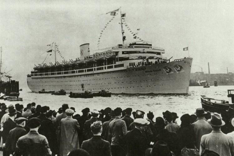 """Мама Януша не смогла попасть на корабль """"Вильгельм Густлофф"""" и это спасло ей жизнь. Фото flickr.com"""
