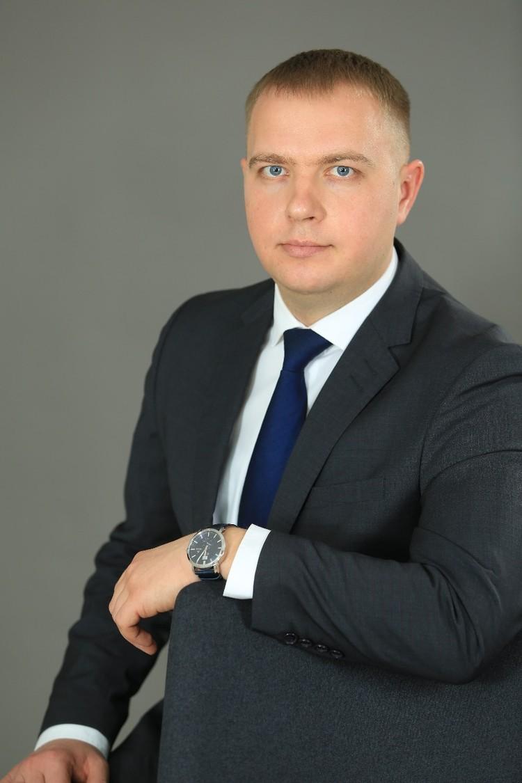 Вице-губернатор - министр строительства Владислав Сандурский. Фото: личный архив Владислава Сандурского.