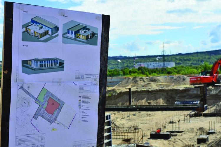 В Североморске строят школу на 22 тысячи квадратных метров. Фото: Правительство Мурманской области.