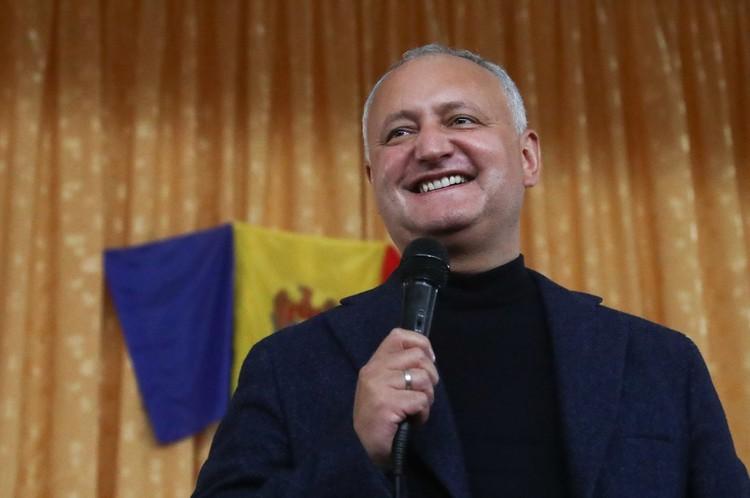 Игорь Додон. Фото: Валерий Шарифулин/ТАСС