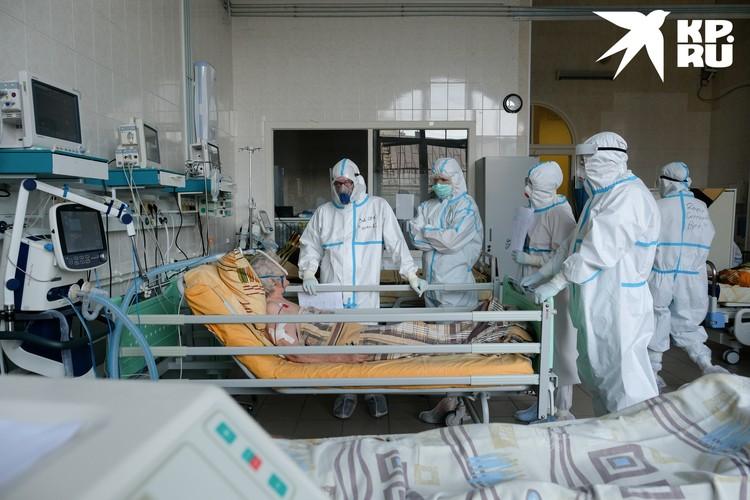 Обстановка в инфекционных стационарах - далеко не курорт. В таких условиях действительно можно тронуться умом.
