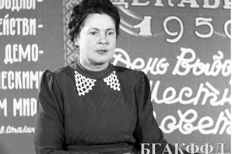 Ольга Галина играла в Купаловском театре ведущие роли. Фото: архив кинофотофонодокументов.