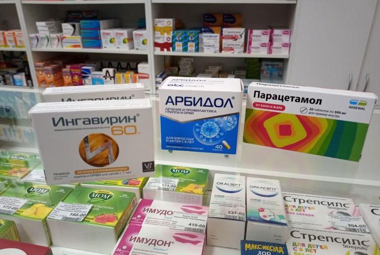 А эти лекарства сегодня можно купить без рецепта, и они выложены на прилавок.