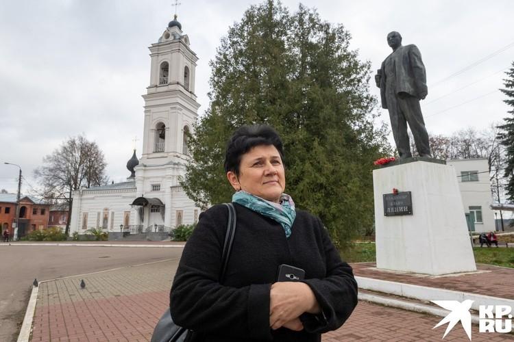 Глава Тарусы Елена Котова