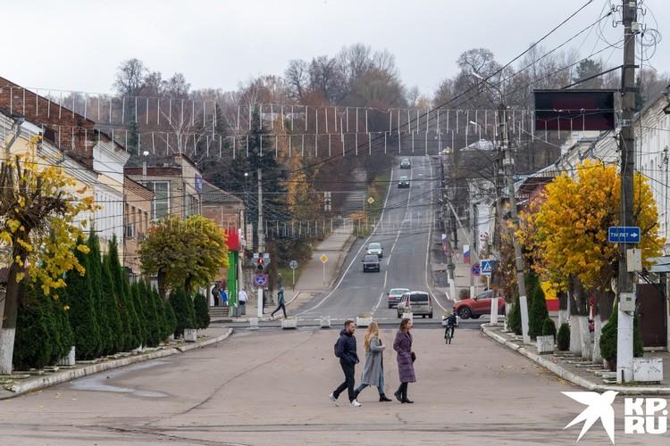 Одна из улиц Тарусы
