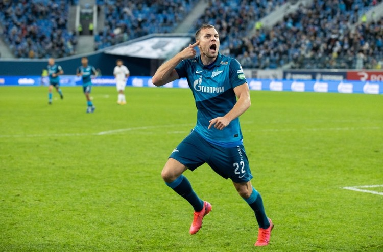 В итоге Дзюба стал лучшим игроком мачта в игре с «Краснодаром».