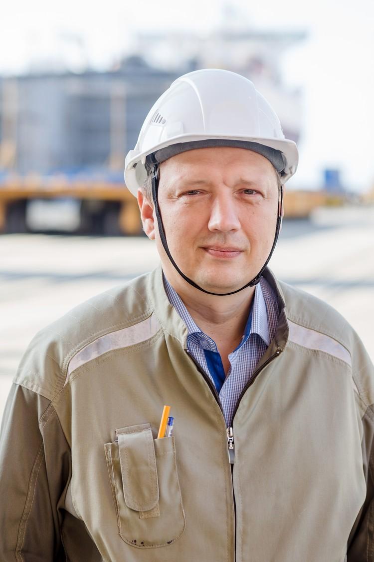 Андрей Бойко на подъемные от переезда смог купить в ипотеку квартиру. Фото: пресс-служба ООО «ССК «Звезда»