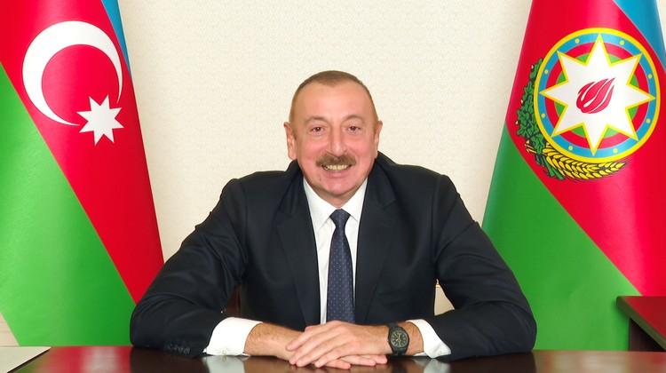 Ильхам Алиев не скрывал эмоций во время телеобращения к народу Азербайджана.