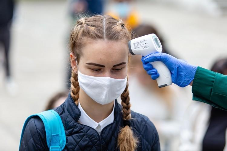 В школах Гродно усилили меры профилактики.